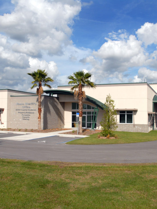 Pasco County Sheriff's Office – Forensics Building